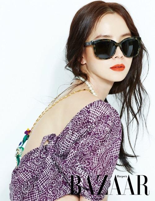"Song Ji Hyo ""Harper's Bazaar"""