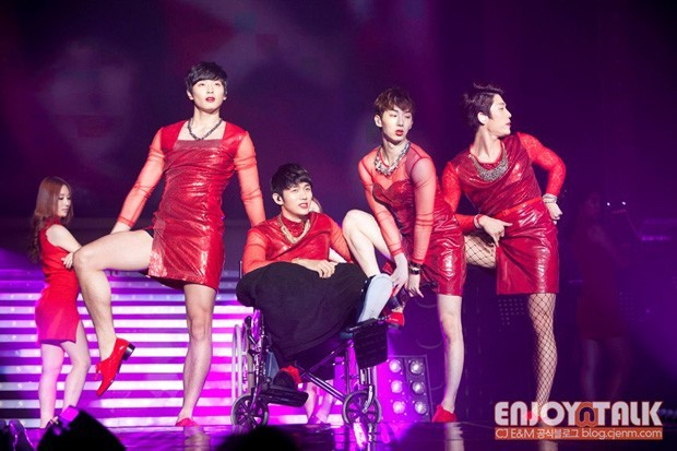 2am red dress