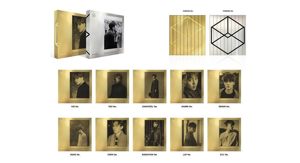 "EXO's 2nd studio album ""EXODUS"" will be available in 20 ..."