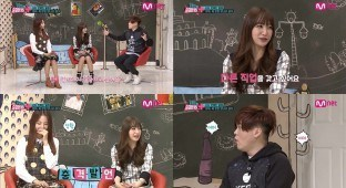Hani on Moon Hee Jun's Real 15 on Mnet