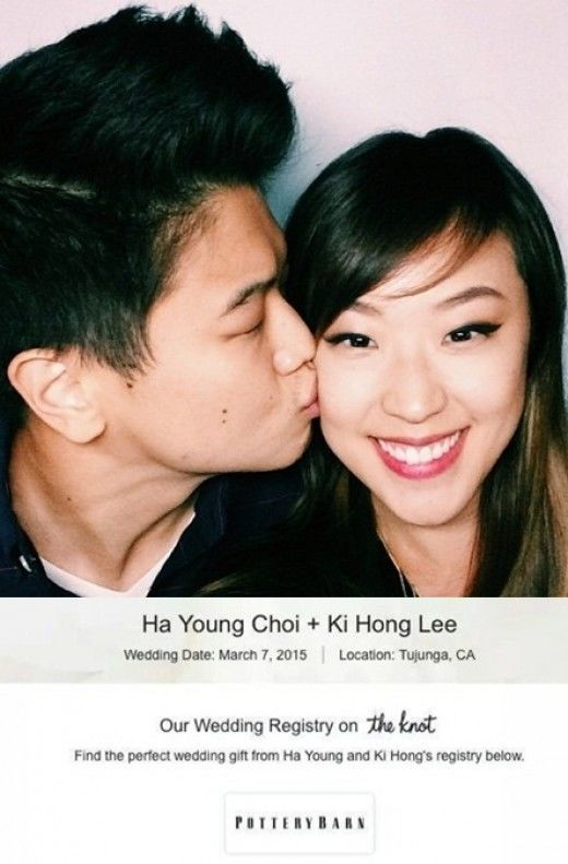 Ki Hong Lee and Ha Young Choi Marriage announcement