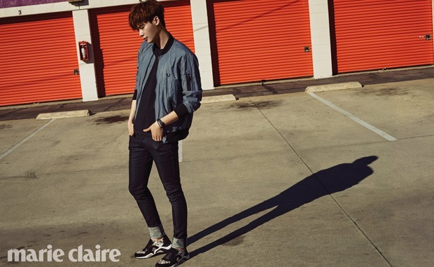 Lee Jong Suk Marie Claire March 2015-2