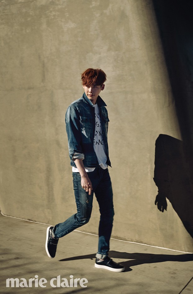 Lee Jong Suk Marie Claire March 2015