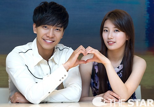 Lee Seunggi and Suzy
