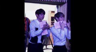 SHINee Minho and Junghyun