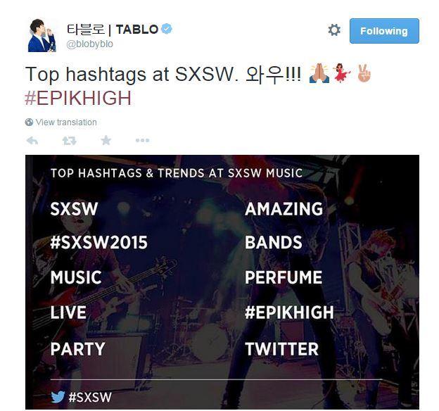 Tablo Tweet 20150324