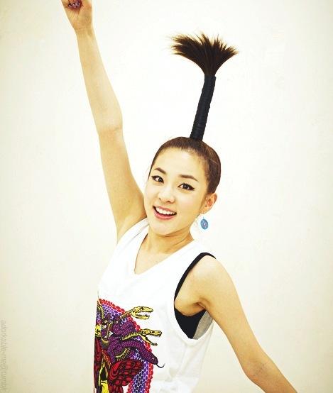 10 Signature Hairstyles of 2NE1's Sandara Park