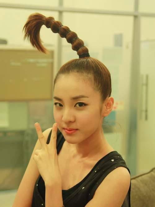 Sandara Park hairstyles