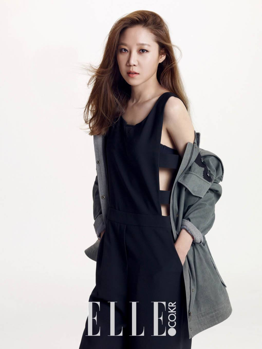Gong Hyo Jin Displays Her Classy Fashion Style For Elle