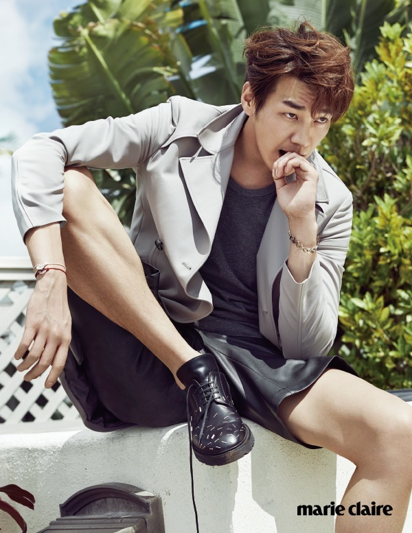 Lee Soo Hyuk Kim Young Kwang Marie Claire April 2015