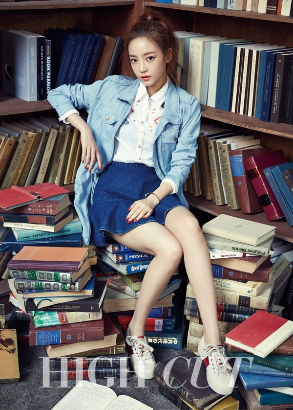 BTOB Sungjae Ilhoon Minhyuk KARA Goo Hara High Cut