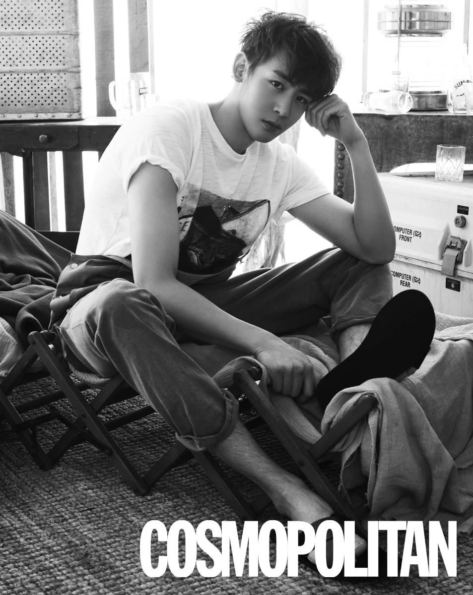 2PM Nichkhun Cosmopolitan May 2015