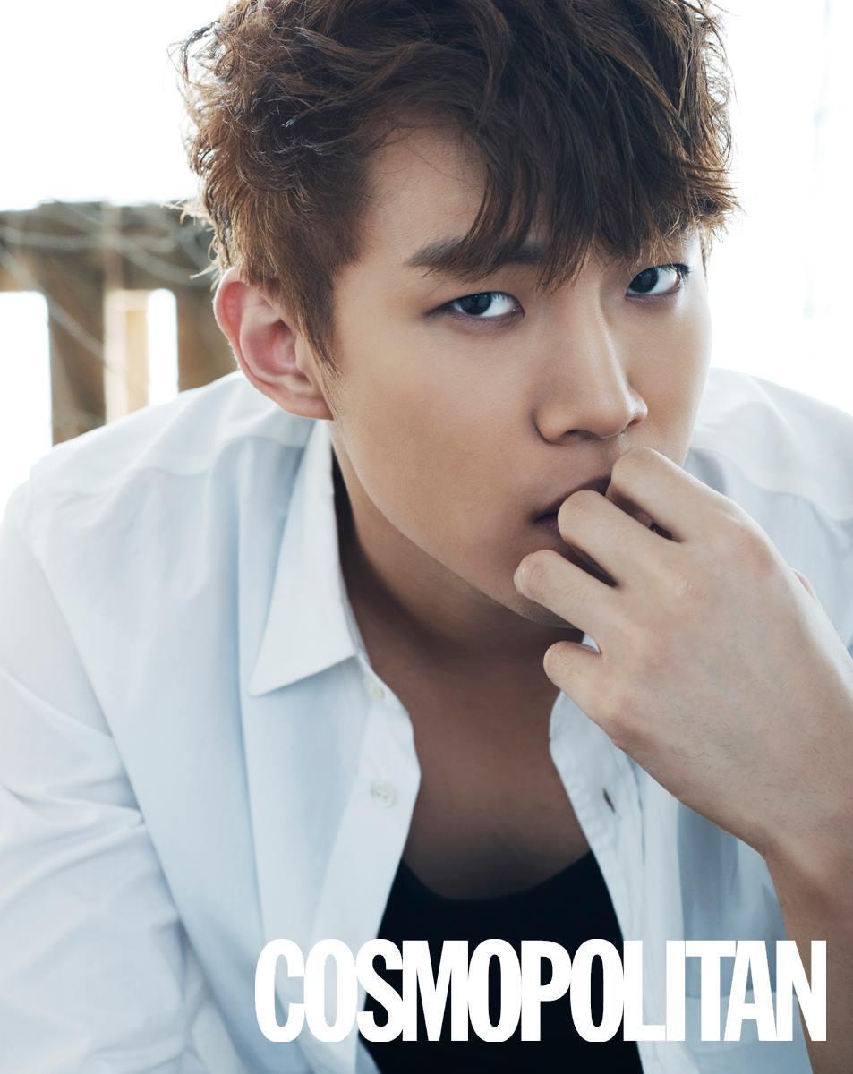 2PM Junho Cosmopolitan May 2015