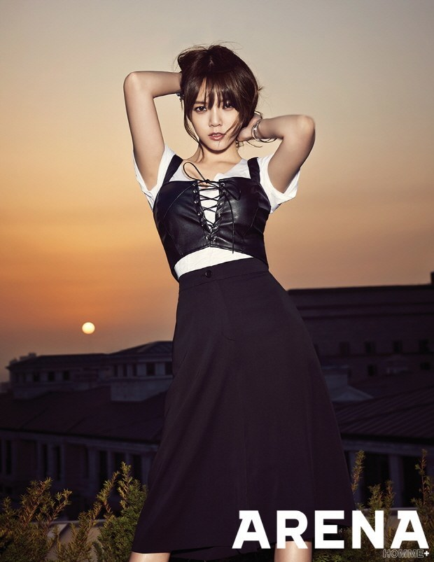 AOA Jimin Arena Homme+ May 2015-2
