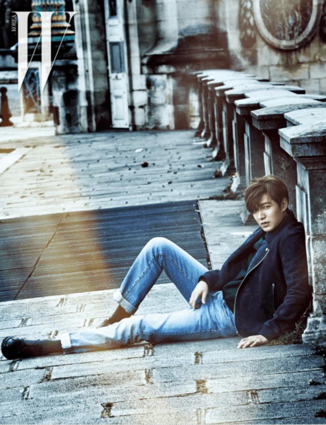 Lee Min Ho for W Korea