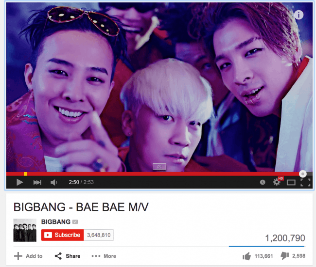 """BIGBANG """"Bae Bae"""""""