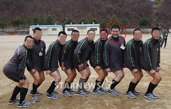 Shindong in Military 2