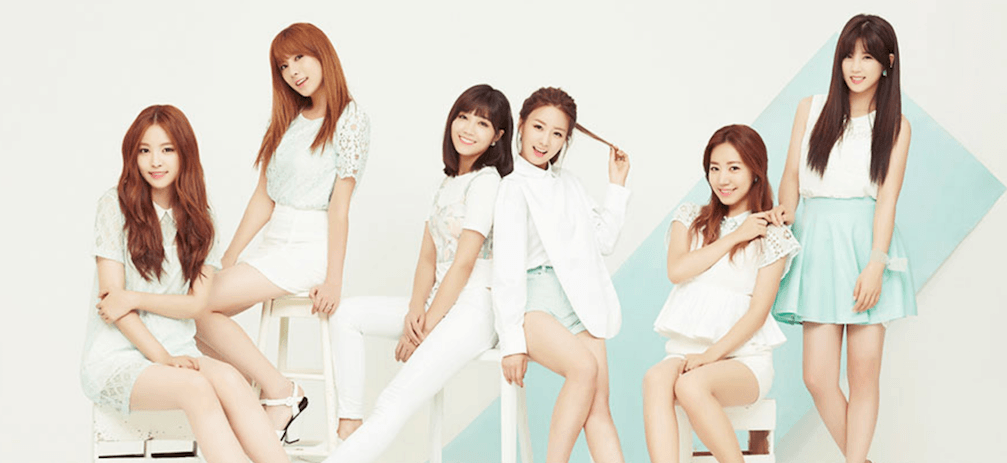 Apink's Official Ameblo Blog Cover Photoe