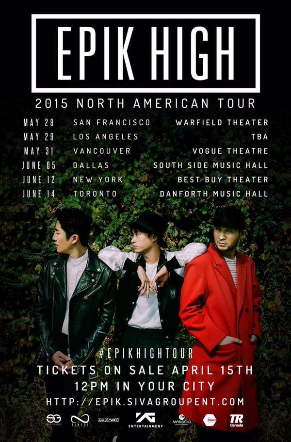 epik high north american tour