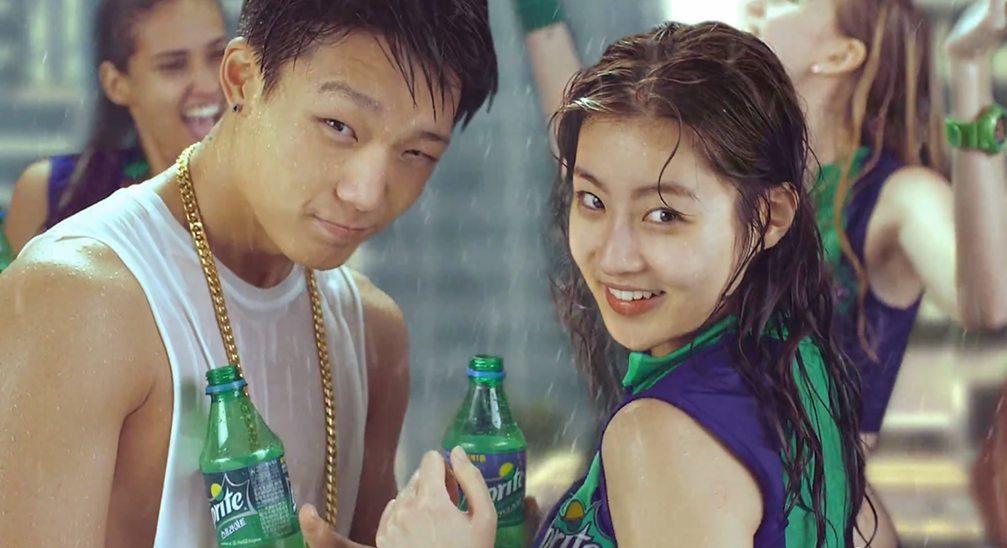 iKON Bobby and Kang Sora Sprite 2015