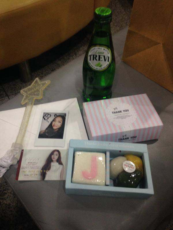 Jessica birthday fan package