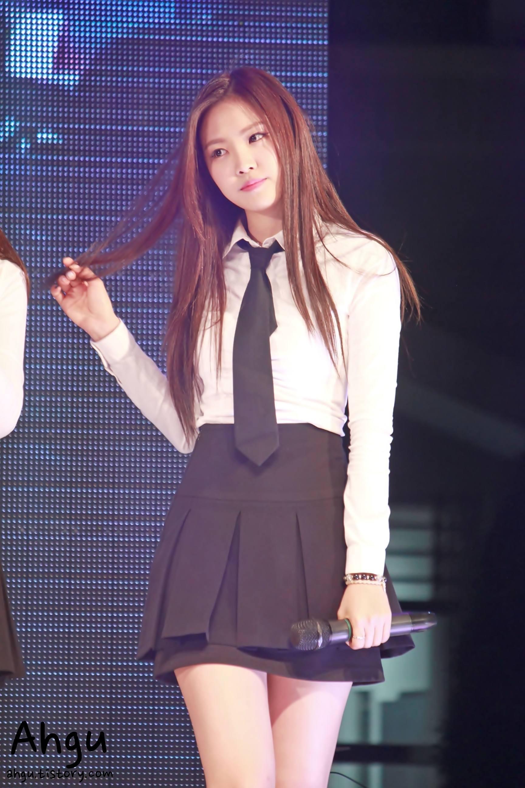 Korean kpop bambino wearing no panties slow motion 6