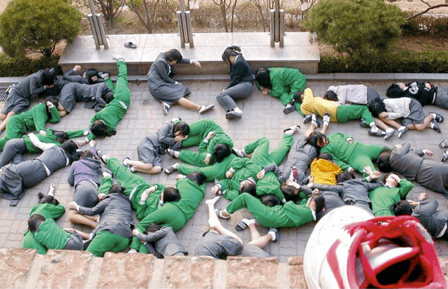 Korean High School Kids Pranking Their Teachers
