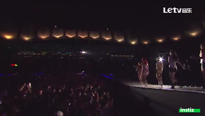 Screenshot of T-ARA's stage uploaded by original poster