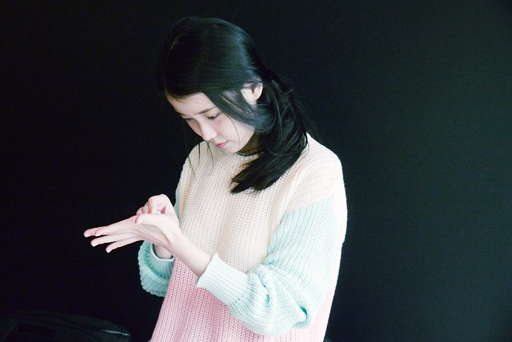 "IU Making of ""Heart"" Jacket"