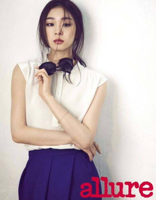 Kim Yuna for Allure