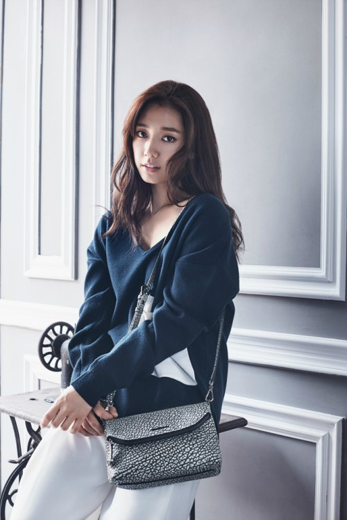 Park Shin Hye for Bruno Magli