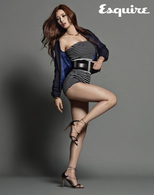 Yoo Seung Ok for Esquire