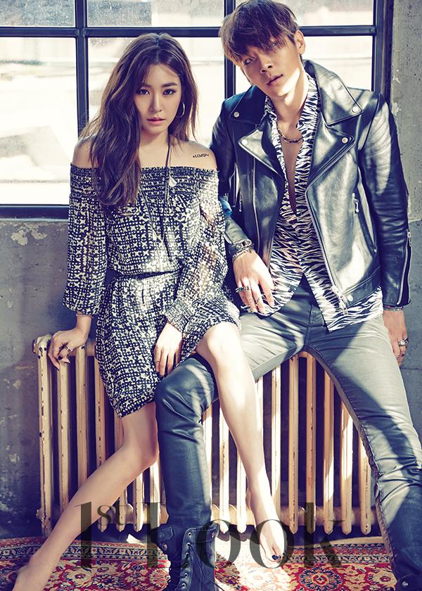 Tiffany and Lee chul Woo