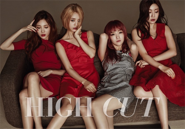 Girl's Day for High Cut