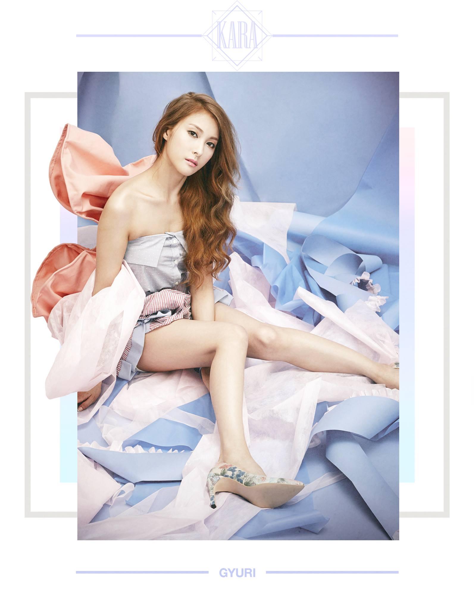 KARA Park Gyuri In Love