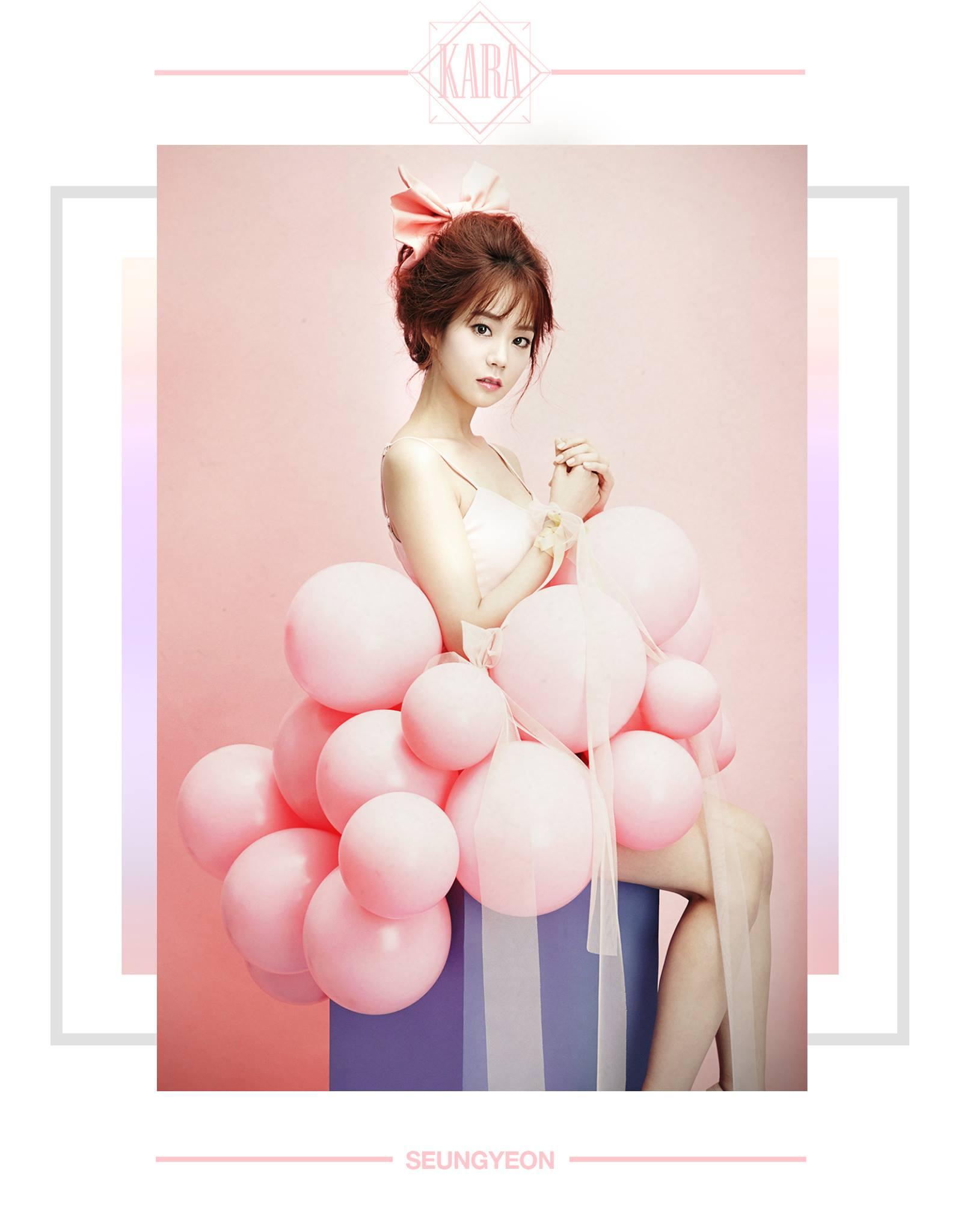 KARA Seungyeon In Love