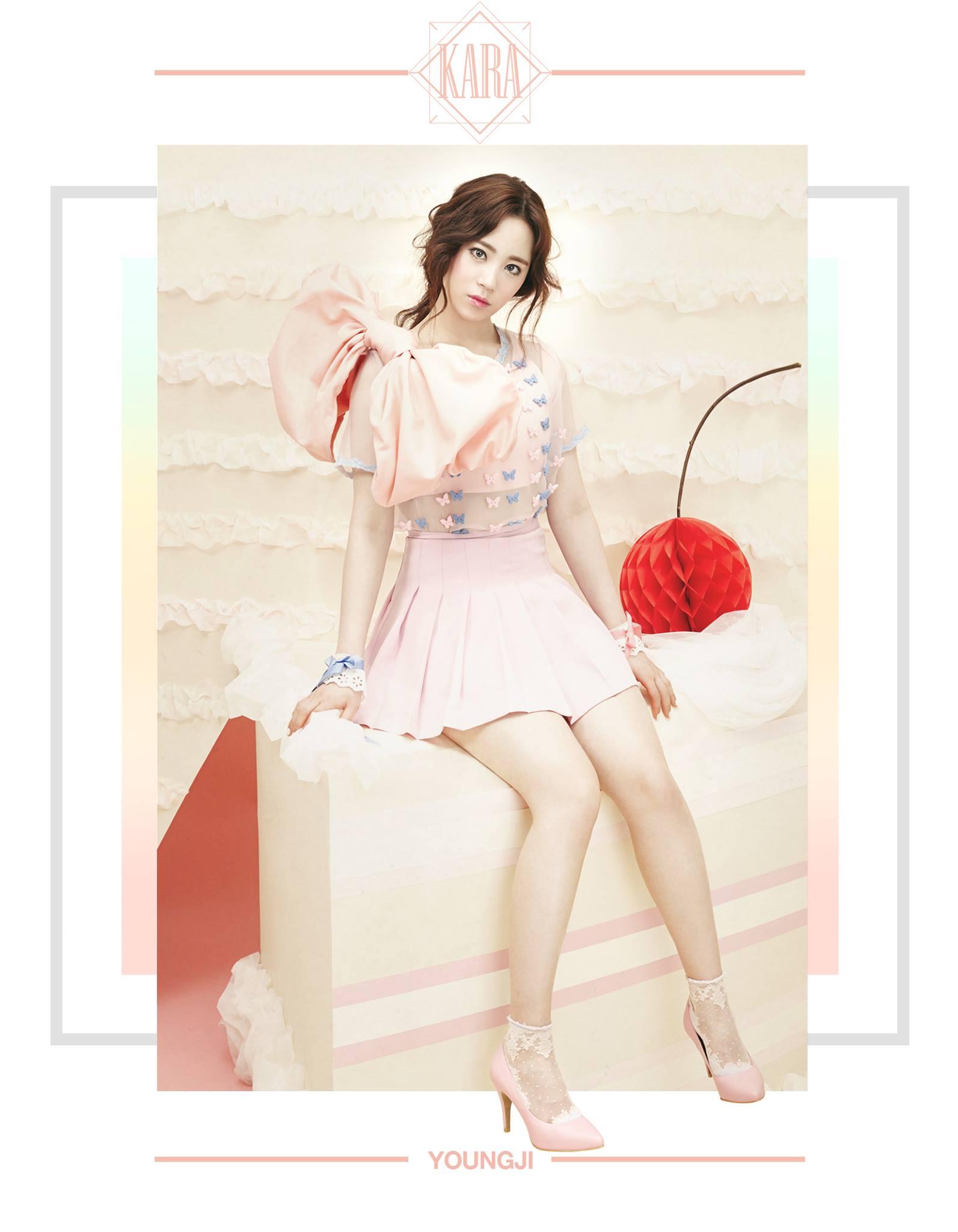 KARA Youngji In Love