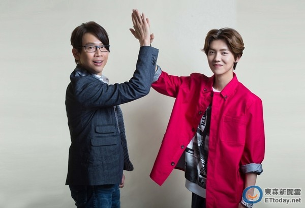 Luhan and David Tao 2
