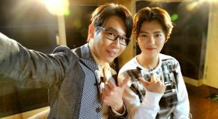 Luhan and David Tao 5