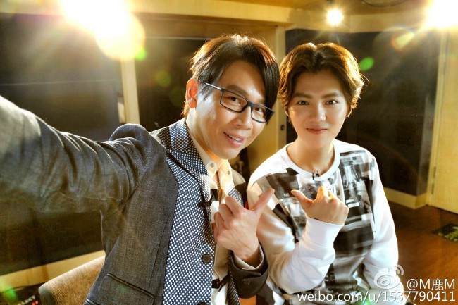 Luhan and David Tao 5