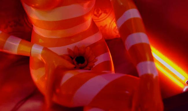 Bae Bae MV flower manequin
