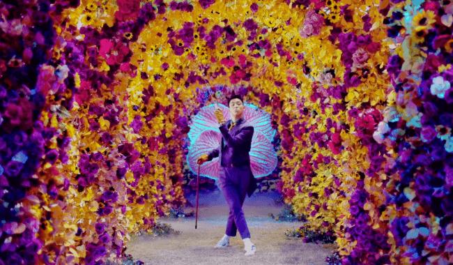 bae bae mv top flowers
