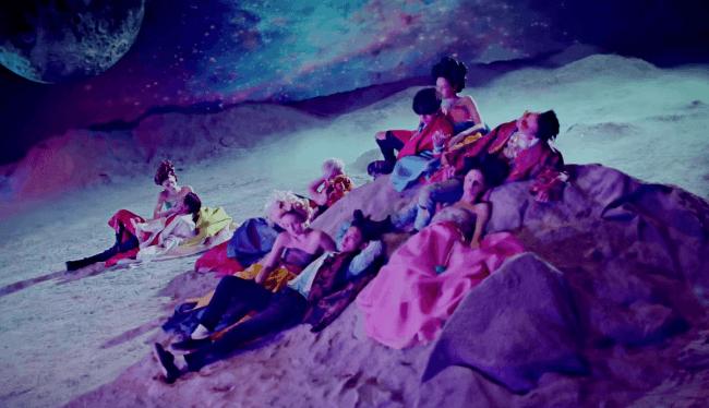 bae bae mv big bang on moon