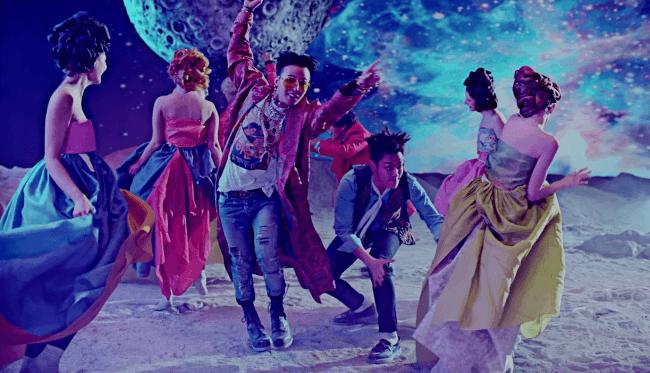 bae bae mv big bang dancing on moon