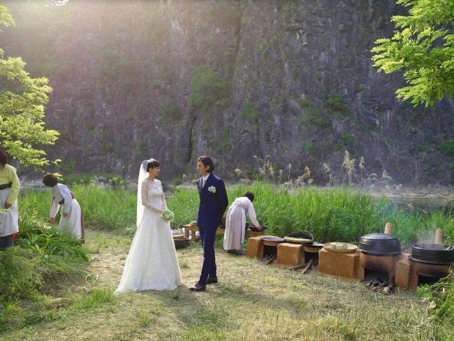 Won Bin Lee Na Young wedding