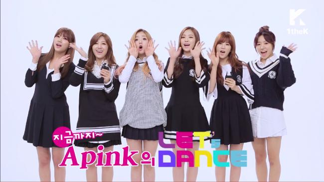 apink lets dance