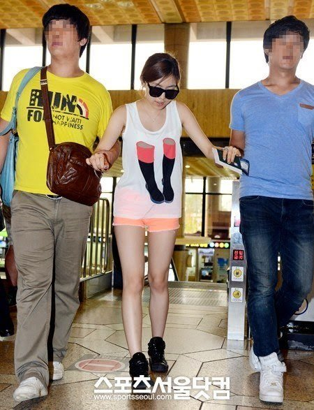 hwayoung walking
