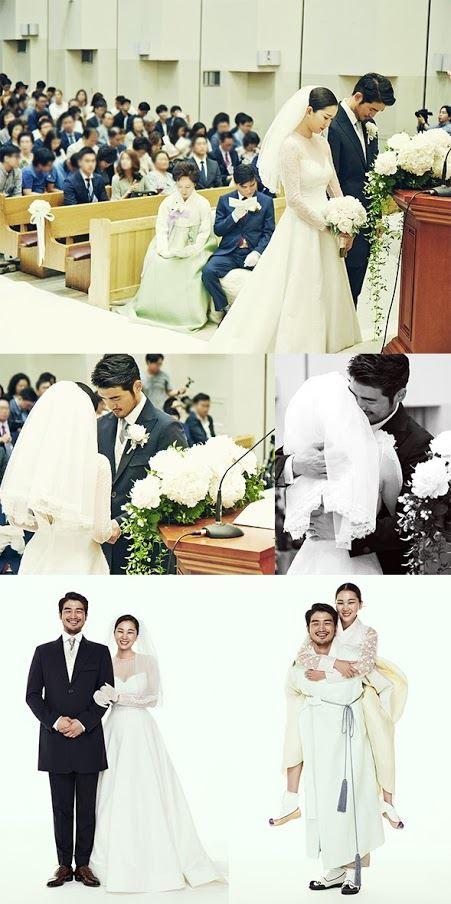 Jang Yoon Joo wedding photos