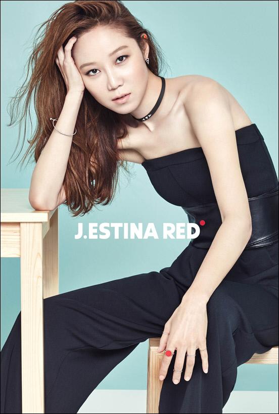 Gong Hyo Jin for J.ESTINA RED