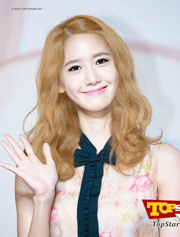Astonishing Girls39 Generation39S Yoona Sporting New Blonde Hairstyle Short Hairstyles Gunalazisus
